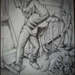 Desen-karakalem-çalışması